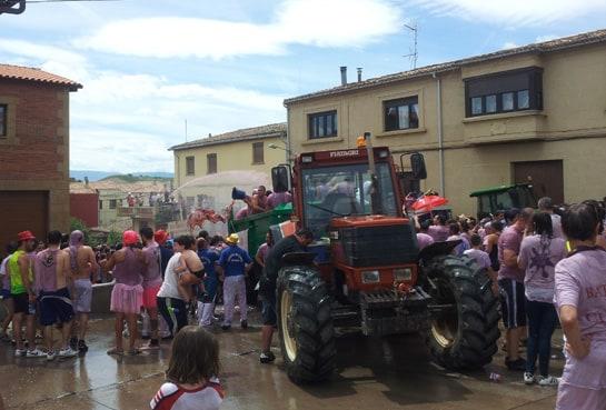 batalla clarete tractor