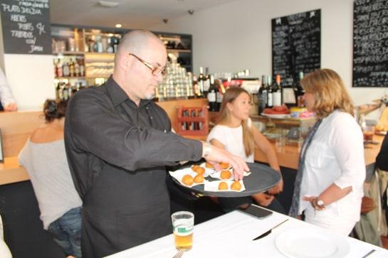 El restaurante Muñagorri, uno de los participantes en la ruta de la tapa / JC Morales