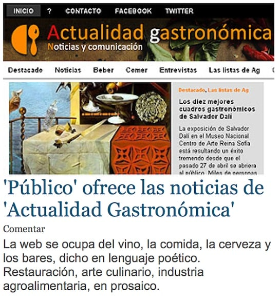 Los contenidos de AG ya están en Público.es