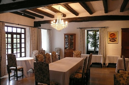Uno de los salones del que fue el mejor restaurante del mundo: El Bulli. /Ag