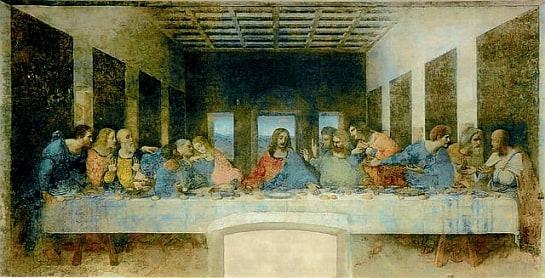 """""""La última cena"""", de Leonardo Da Vinci."""