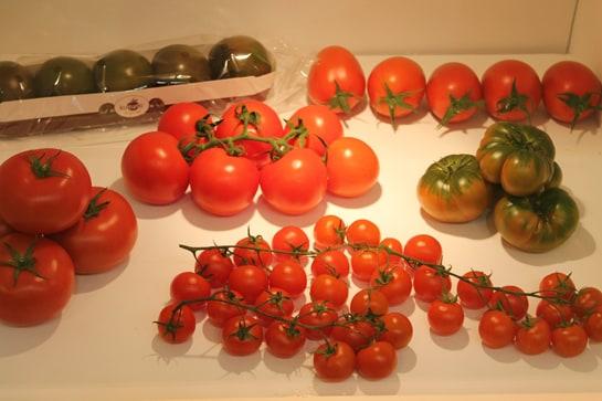Los madrileños podemos disfrutar de decenas de variedades de tomate / JC Morales