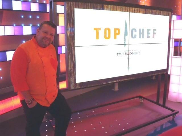 Chicote posa para Ag durante la presentación de Top Chef. /A.Moreno