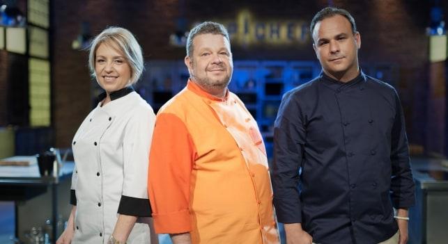 Susi Díaz, Alberto Chicote y Ángel León: el jurado de Top Chef. /Antena3.com