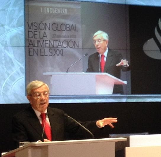 Rafael Ansón, durante su intervención. / Foto: A. González