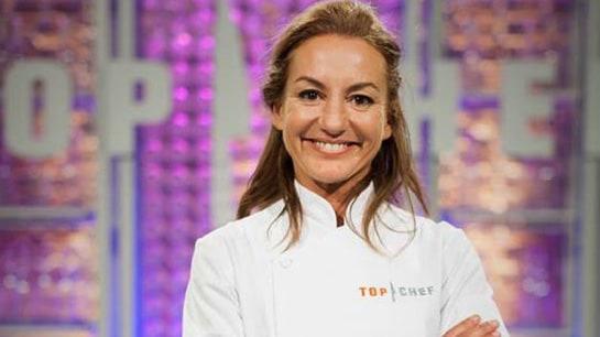 Bárbara Amorós, sonriendo en una imagen promocional de Top Chef. /Antena3.com