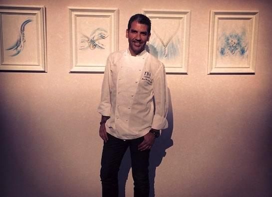 El chef Paco Roncero, en una imagen de su cuenta de Instagram.