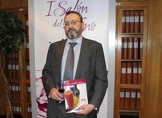 Juan Fernández Cuesta, durante el Salón del Vino del diario Abc / Foto: A.González