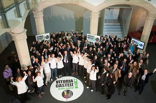 La candidatura de Vitoria ha gozado de gran apoyo social / Foto: CEP
