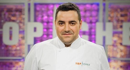 Antonio Arrabal, durante su participación en Topchef / Foto: Antena 3