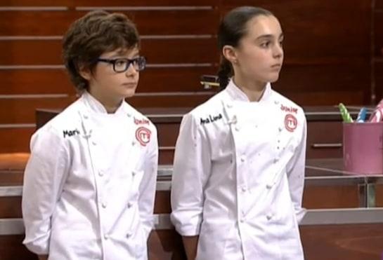 Mario y Ana Luna, esperando el veredicto del jurado en la final.