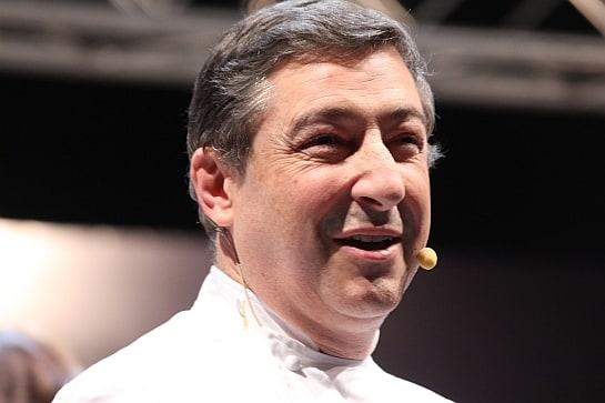 Juan Roca, durante su participación en Madrid Fusión 2014 / Foto: A. G. Gil-García