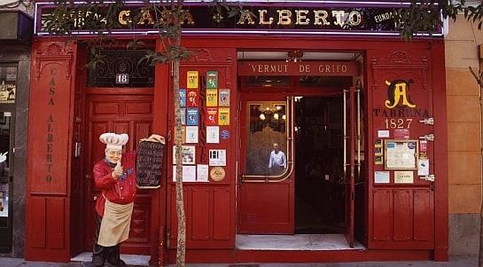 Casa Alberto, toda una institución en el Barrio de las Letras de Madrid