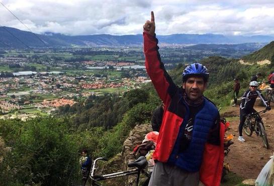 Paco Roncero rinde homenaje a Darío Barrio desde Bogotá.
