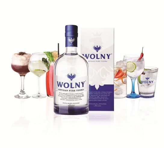 Llega a España Wolny, la esencia del vodka polaco