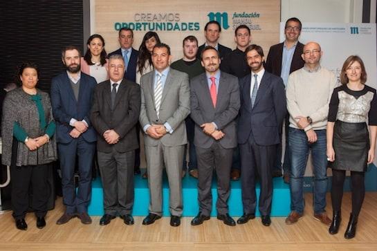Los participantes en la presentación de la iniciativa / Foto: Mahou San Miguel