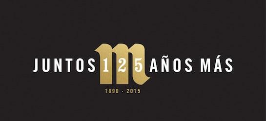El logo del 125 aniversario de Mahou San Miguel