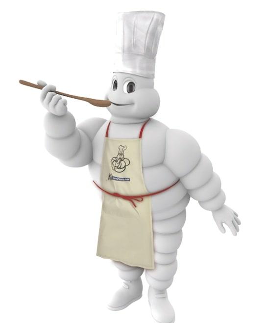 El famoso muñeco Michelin.