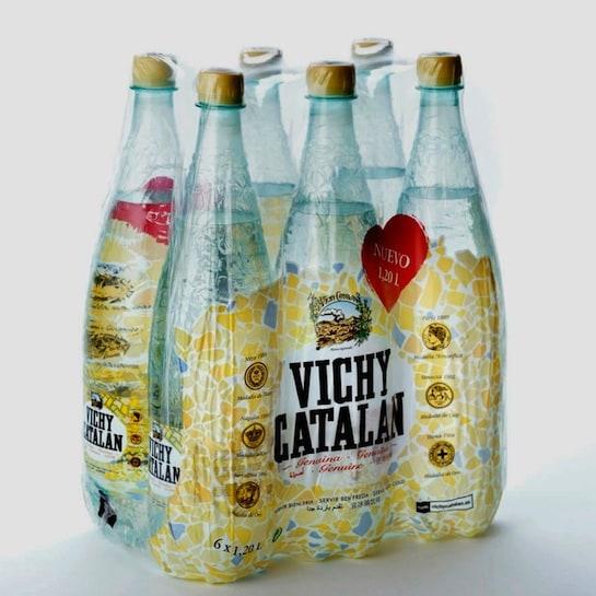 Pack de botellas con el nuevo diseño