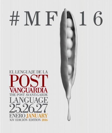 El póster oficial de Madrid Fusión 2016.