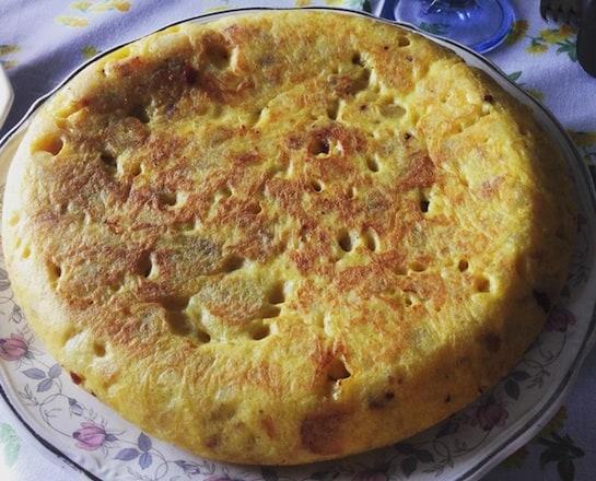Tortilla española clásica. / Foto: Actualidad Gastronómica