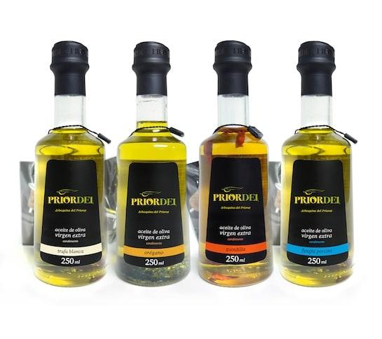 Aceites infusionados Priordei