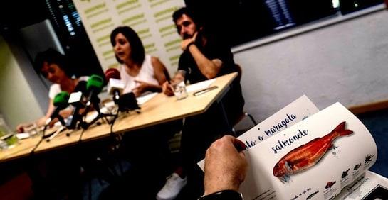 Acto de presentación de la guía. Foto/ Greenpeace/P. Armestre