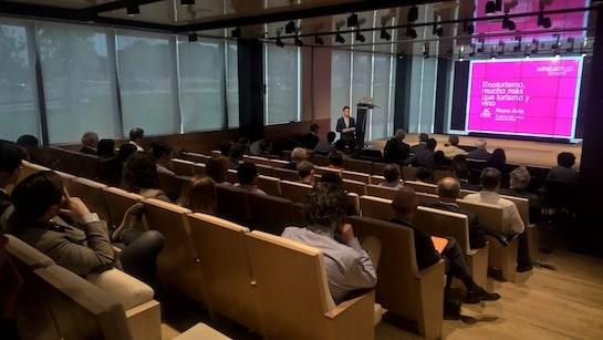 Sesión del Winetech Forum.